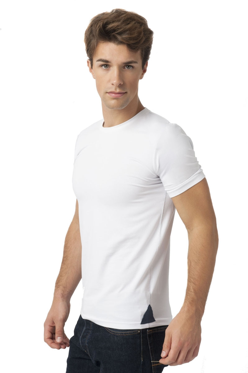 Up T-shirt Homme Col rond