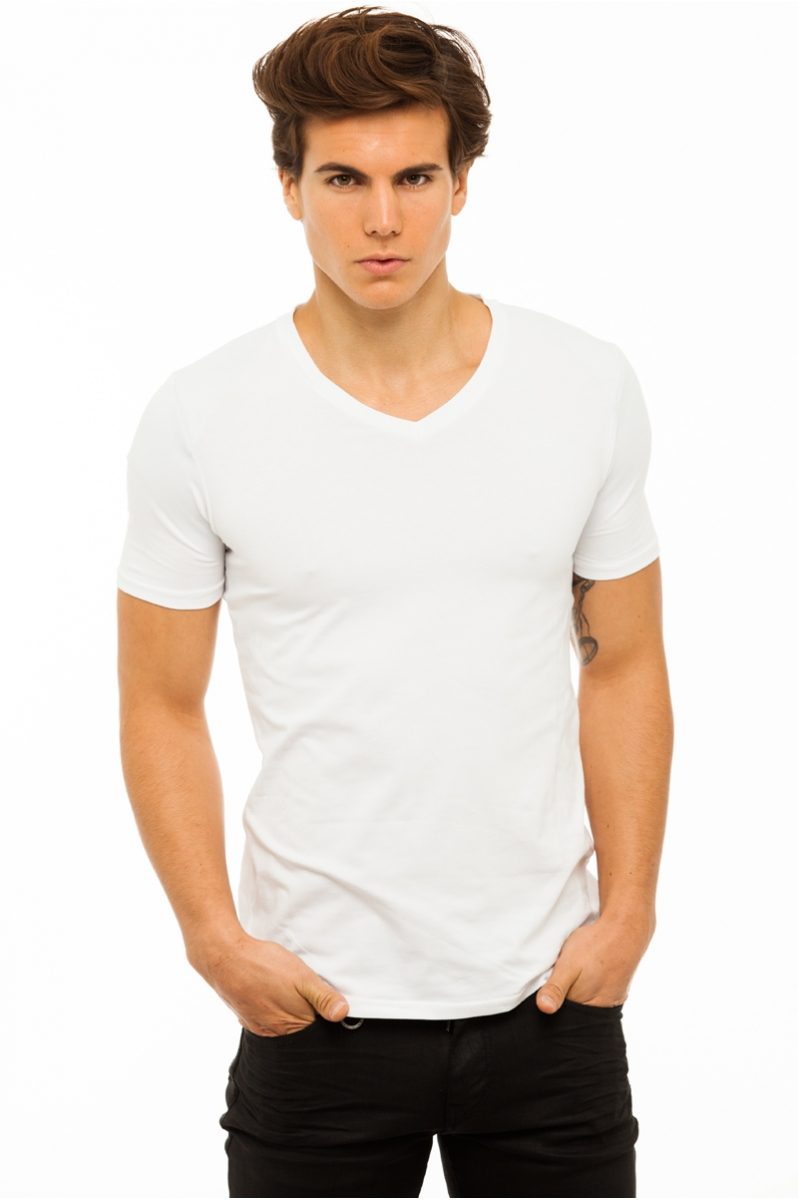 up t shirt men v neck short sleeves upcouture